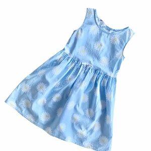 H&M Girl's Blue Daisy Dress